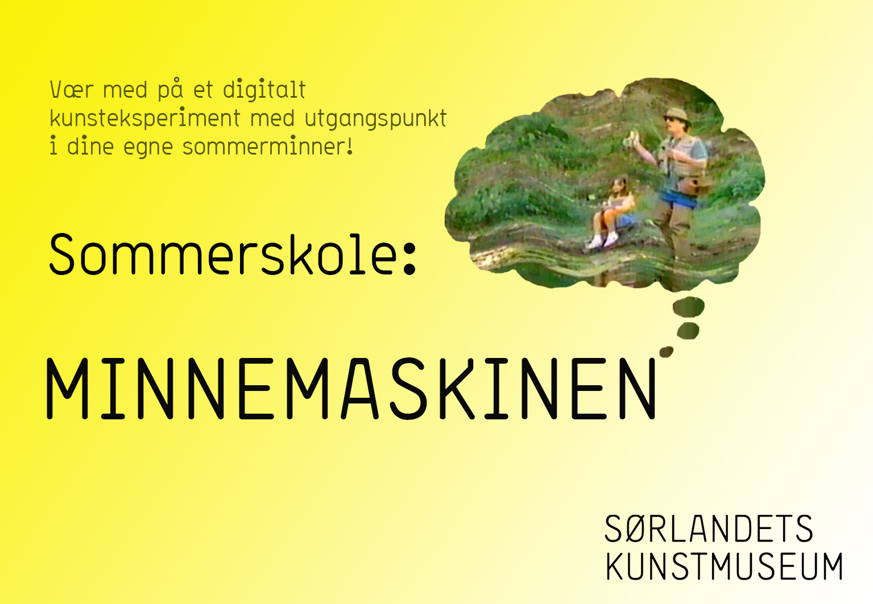 Sommerskole på Sørlandets Kunstmuseum 2020 uke 26 og 32.