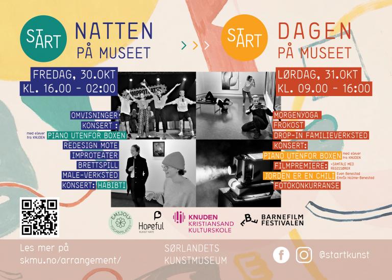 24 timers festival: stART Natten på museet – stART Dagen på museet
