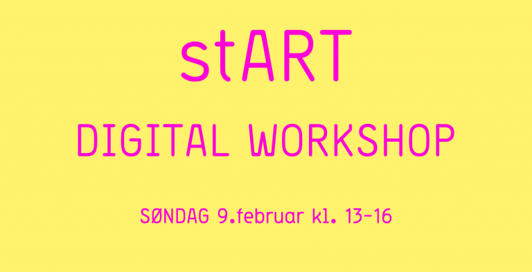 stART Digital workshop