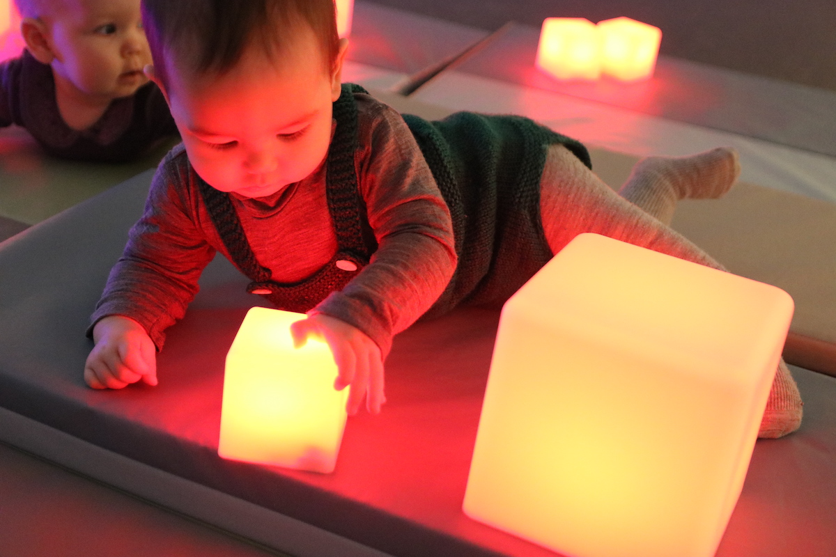 Sørlandets Kunstmuseum åpner hele museet for deg med barn og baby en gang i måneden.