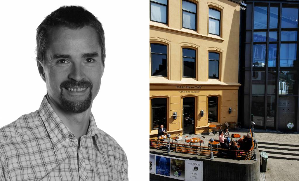 Foredrag ArtTalk med Tore Kirkholt på Sørlandets Kunstmuseum om abstrakt kunst.