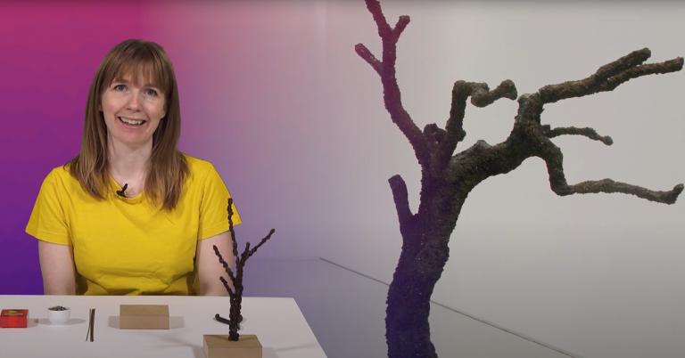 Digitalt verksted med materialpakke: Lag et tre til fuglene