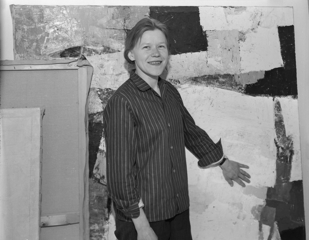 Tangen-samlingen. Modernismens Pionerer. Nordisk modernisme. Irma Salo Jæger, 1965. Foto: Atelier Rude /Oslo Museum