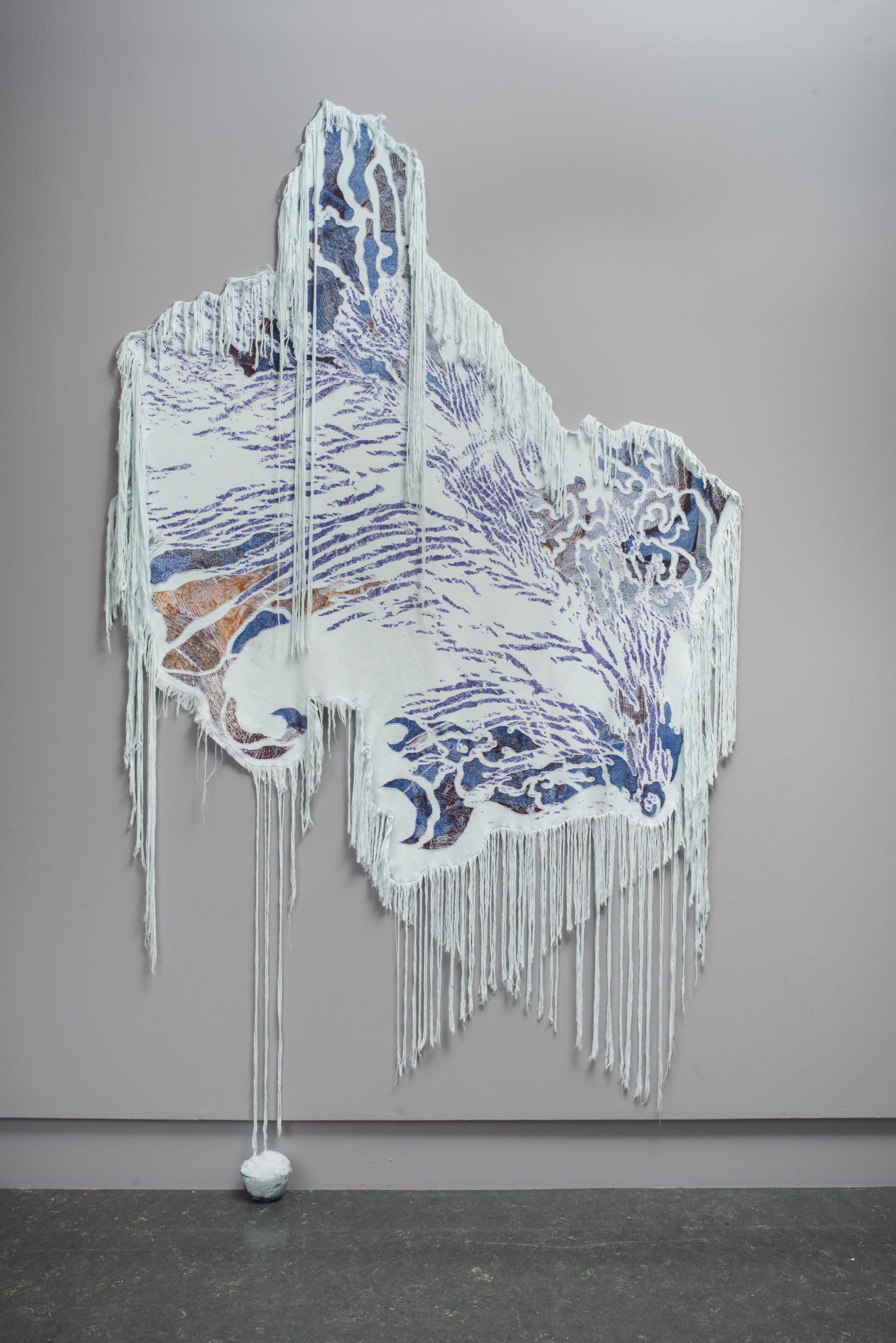 Randi Liliequist, Is-bjørn, 2020, Årsutstillingen Sørlandets Kunstmuseum Norske Kunsthåndverkere