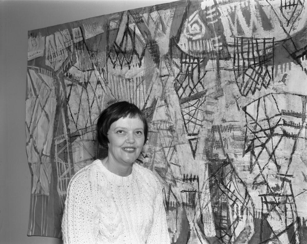 Synnøve Anker Aurdal,1964. Foto: Atelier Rude/Oslo Museum